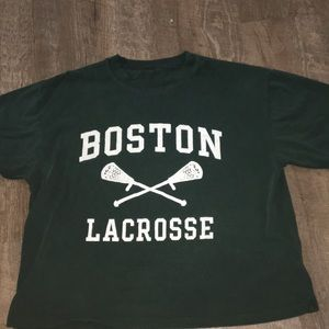 Brandy Melville Boston Lacrosse Tee